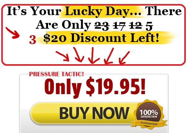 pressure tactic pure natural healing scam Pure Natural Healing is A Wicked, Worthless Scam! (Unbiased Review)