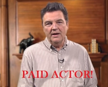 david riley paid actor blood pressure protocol scam