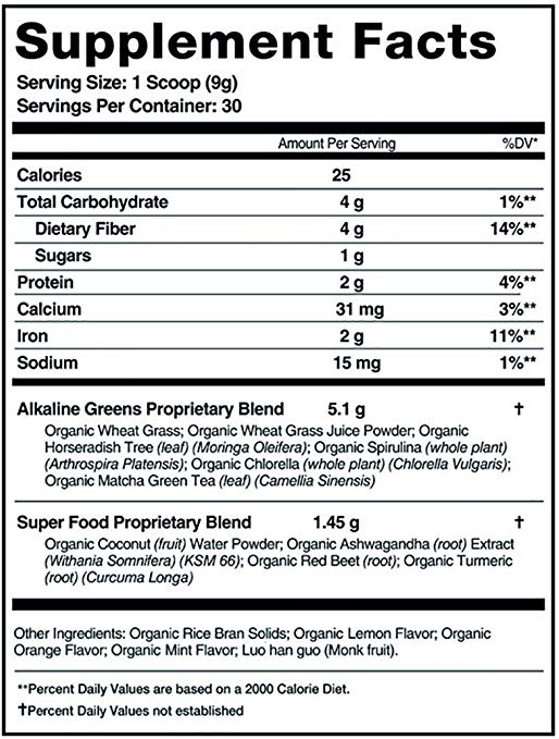 organifi green juice nutrition facts Organifi Green Juice Review: Great Product for Overall Health