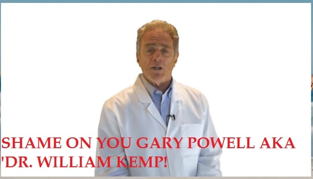 gary powell dr william kemp quantum vision system scam