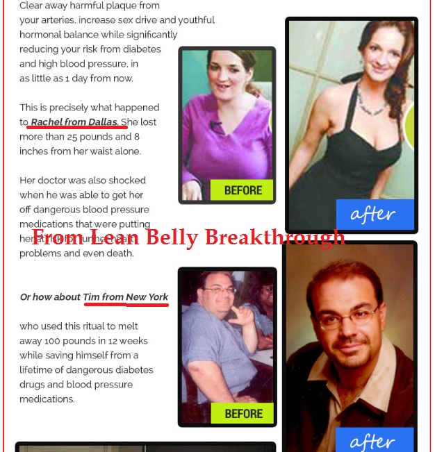 lean belly breakthrough fake testimonials