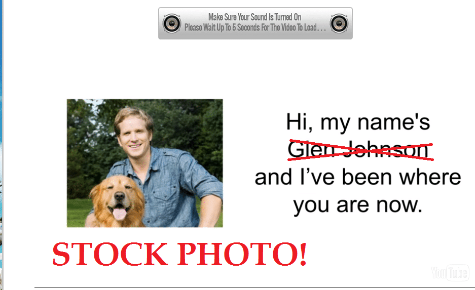 glen johnson sciatica sos scam