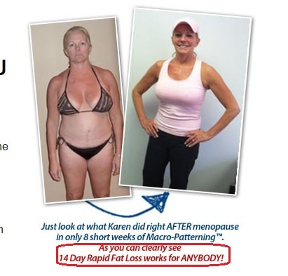 karen's photo at 14 day rapid fat loss plan over 40 ab solution scam
