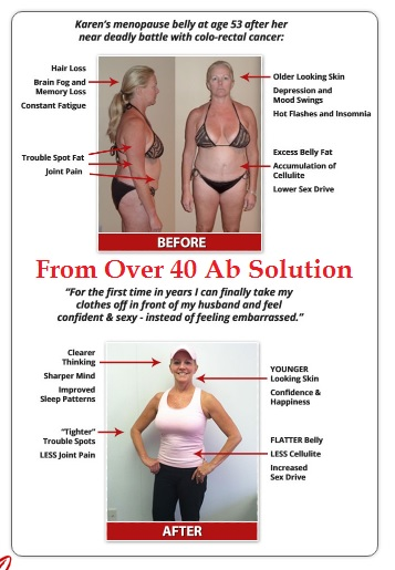 karen's photo over 40 ab solution scam