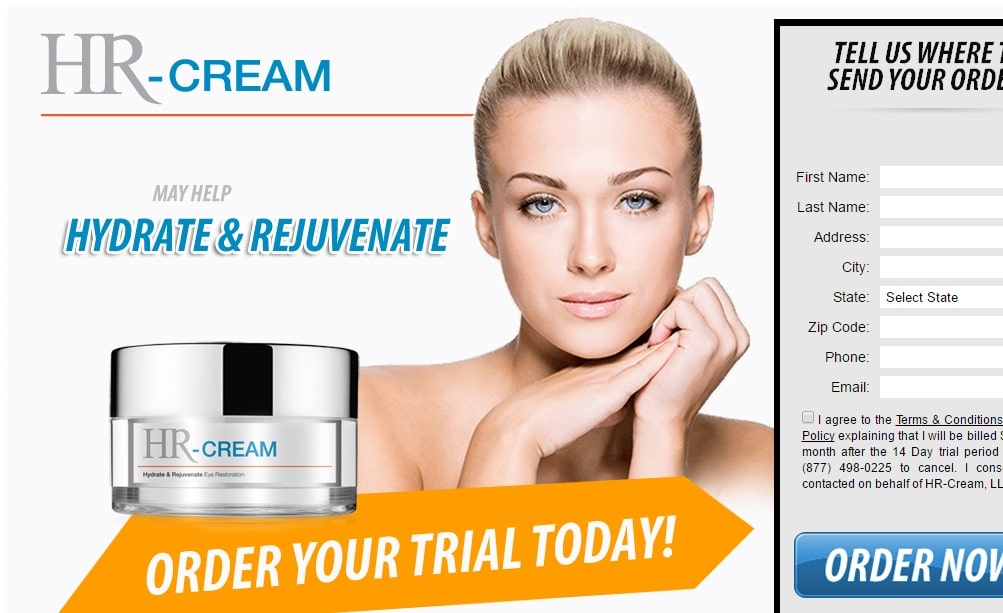 hr cream scam