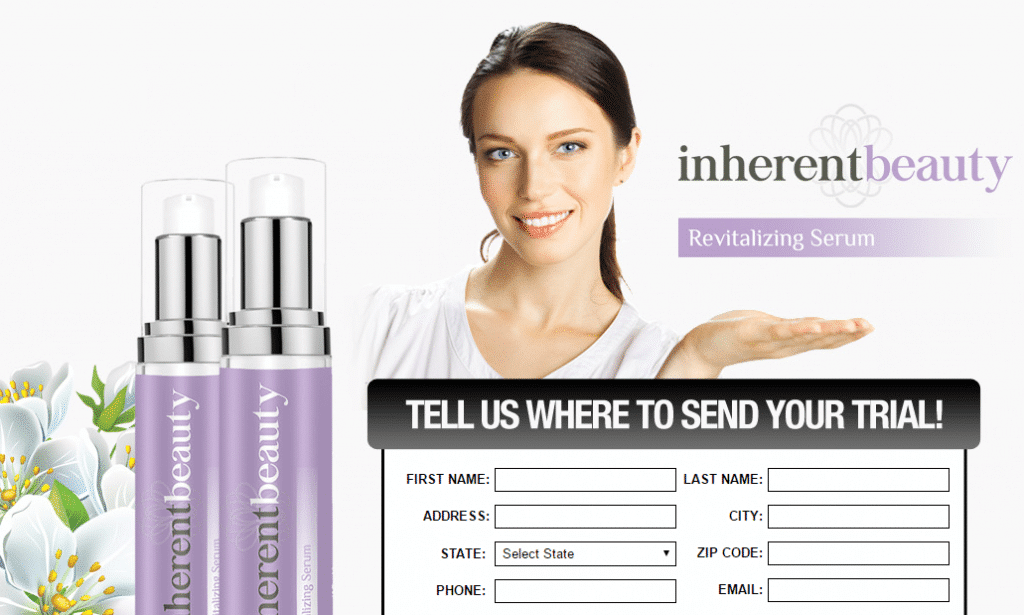 inherent beauty revitalizing serum scam