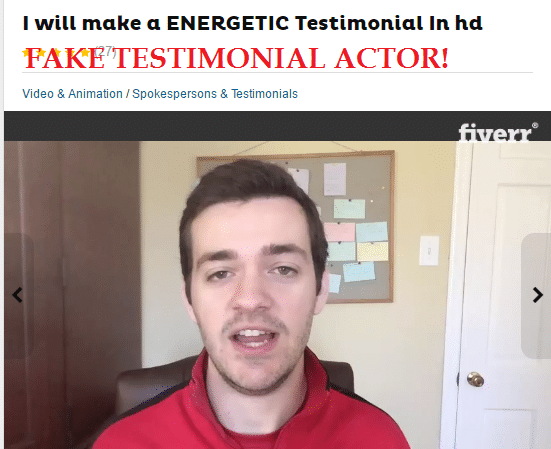 fake testimonials fungus destroyer scam