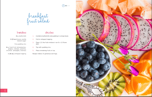 delicious - the ultimate diabetic cookbook sample page