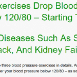 natural high blood pressure exercise program