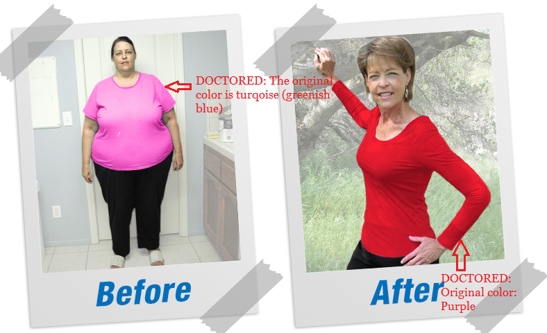 amanda doctored testimonial photo Fat Decimator by Kyle Cooper is A SCAM! (Unbiased Review)