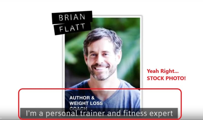 brian flatt stock photo one week diet scam review
