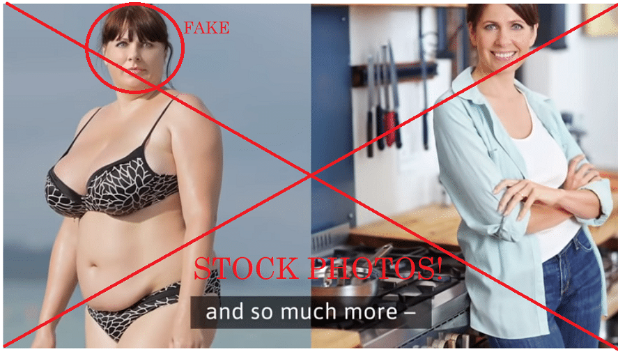 debbie hayes doctored stock photos one week diet scam review