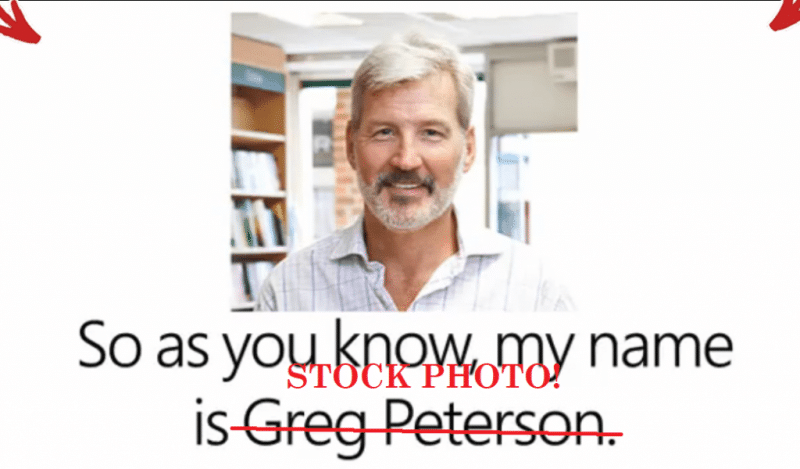 greg peterson stock photo ear clear plus scam