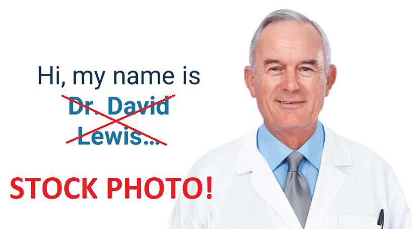 dr david lewis stock photo 2020 protocol scam