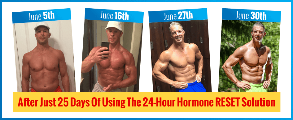 shaun hadsall results after trying over 40 hormone reset diet