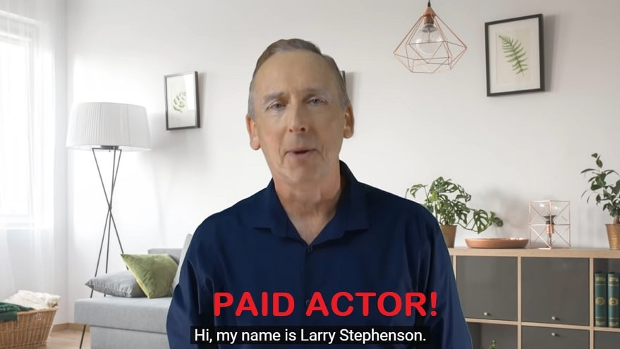 larry stephenson paid actor revision review