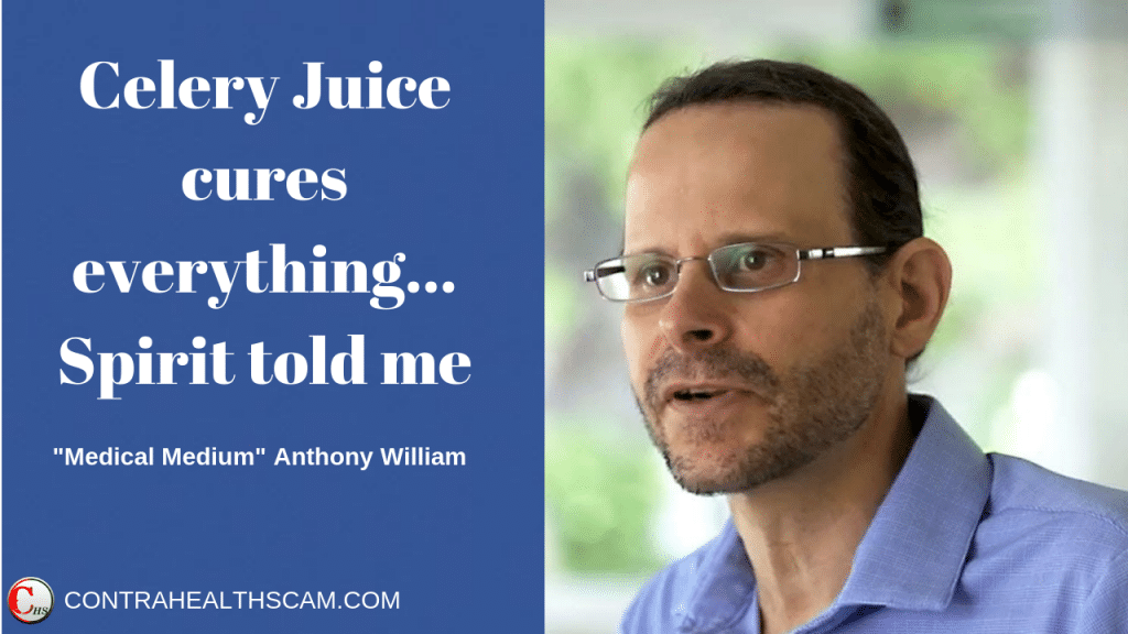 truth about celery juice and medical medium anthony william
